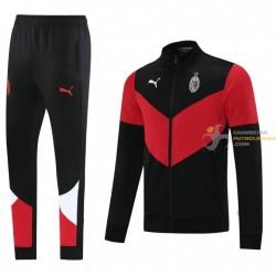 Chándal AC Milan Rojo Negro...