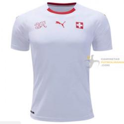 Camiseta Suiza Segunda Equipación 2018