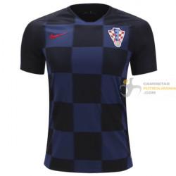 Camiseta Croacia Segunda Equipación 2018