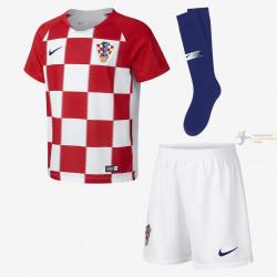 Camiseta y Pantalón Niños Croacia Primera Equipación 2018