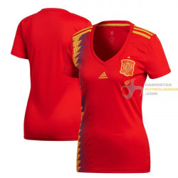 Camiseta Mujer España Primera Equipación 2018