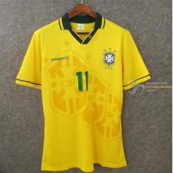 Camiseta Brasil CBF Retro...
