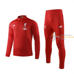 Chándal Liverpool Rojo...