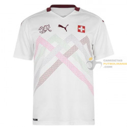 Camiseta Suiza Segunda...
