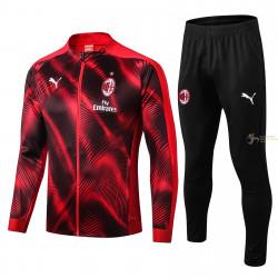 Chándal Milán Rojo y Negro...