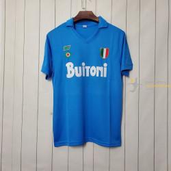 Camiseta Nápoles Retro...